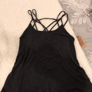 American eagle tank. New with tags. Xs. Gray